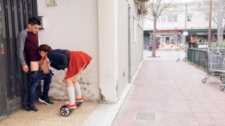 Pamela Sanchez and her_Sex Segway Roam the Streets Preview Image