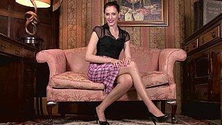 Milf in vintage lingerie teasing Preview Image