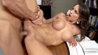 Big boobed secretary Ashley_Sinclair gets slammed by her boss Preview Image