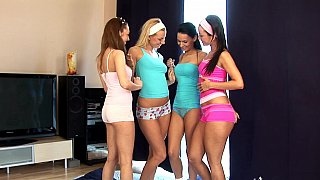 Teenage foursome Preview Image