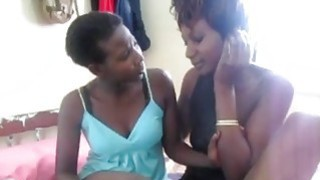 Awesome Black Whores Enjoys Hot Lesbian Action Preview Image