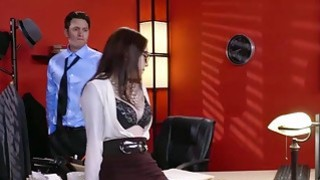 Ultra horny Anna de Ville anal fucked in office Preview Image