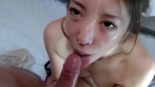 Pretty Japanese Creampied Twice on Webcam Part 2 Preview Image