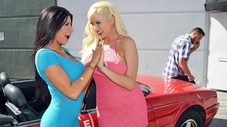 Romi Rain & Summer Brielle & Danny Mountain in My Dad Shot Girlfriend Preview Image