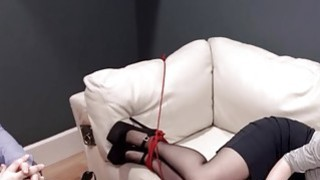 Extremely hardcore BDSM rope makinglove with anal action Preview Image