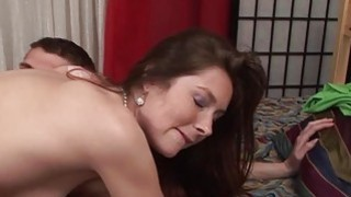 Kattie Golds hairy pussy is full of cum Preview Image