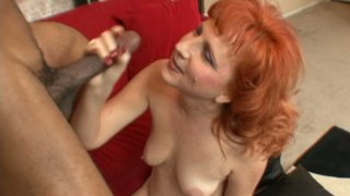Redhead_slut_Sasha_Brand_fucks_with_black_handsome_guy Preview Image
