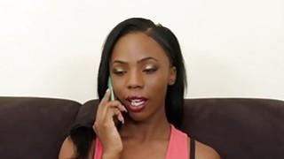 Big Black Dildo For Two Horny Ebony Babes Preview Image