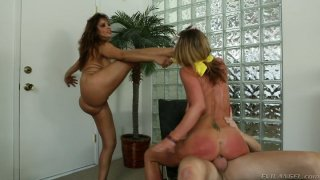 Assholes of Francesca Le and Sheena Shaw get boned by Mark Wood Preview Image