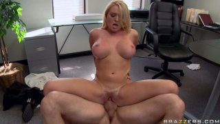Office fuck is great cure from stress for Krissy Lynn Preview Image