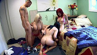 Gang-bang with porn fans Preview Image