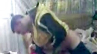 Amateur Arab girlfriend takes boner in bedroom Preview Image