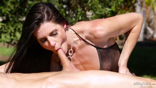 MILF India Summer creampied on the_milking table Preview Image