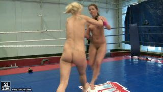 Zesty_redhead_hoe_Angel_Rivas_in_her_first_nude_wrestling_battle Preview Image