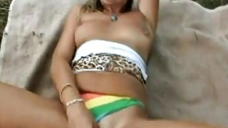 Blonde MILF Samantha Wants To Drain Guy's Cock After He Nailed Her Pussy Preview Image