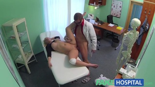 FakeHospital Thick beautiful blonde let's doctor work Preview Image