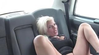 Huge titties blonde Milf bangs in fake taxi Preview Image