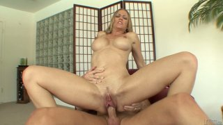 Outstanding dick rider Genna Eve jumps on the strong cock of Mark Wood Preview Image