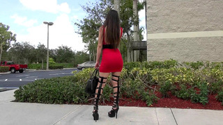 Alexis Rodriguez was noticed in a sexy high heels and thighs Preview Image