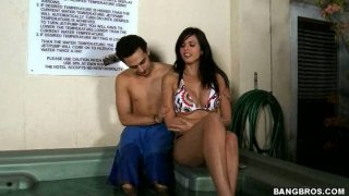 Golddigger Shy Love fucks the guy who bought her clothes Preview Image