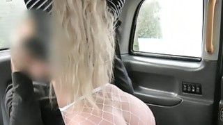 Hot amateur blonde passenger rough anal sex in the taxi Preview Image