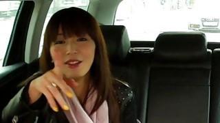 Asian amateur fucks fake taxi driver Preview Image