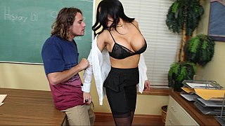 Big Tits Teacher Fucks Her Big-Dick Student at the Office Preview Image