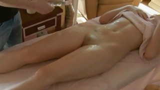 Rubber is soothing beautys body with oil massage Preview Image