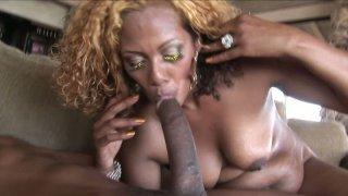Devilish slut_Koko Kabana rides the fat and strong black dick and sucks it deepthroat Preview Image