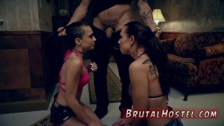 Foot slave training first time Best mates Aidra Fox and Kharlie Stone Preview Image