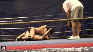 Nude fight club with Eliska Cross_and Lisa Sparkle. Preview Image