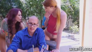Blonde teen punished Awesome 4th Of July Threesome Preview Image