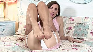Mature in vintage lingerie Preview Image