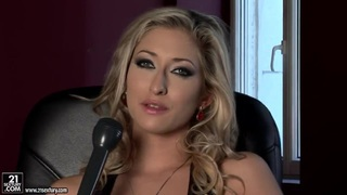 Sexy_porn_model_Karina_Shay_talks_in_the_interview_scene Preview Image