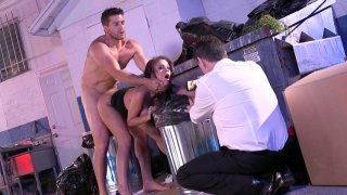 Jamie Valentine gets fucked standing on the backyard Preview Image