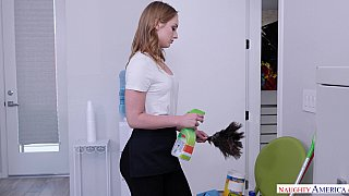 Forget the ladder Daisy Stone climbs big dick to get a job Preview Image
