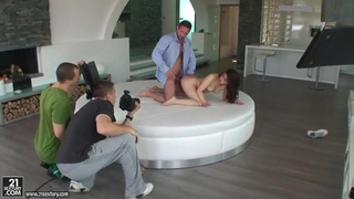 Brunette teen Tiffany Doll is getting banged Preview Image