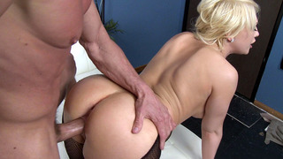 Kagney Linn Karter taking his whole shaft balls deep in her tight pussy Preview Image
