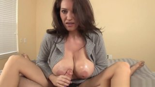 Hugetits Milf Jerks Off Big Dick Pov Style Preview Image