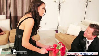 Busty brunette Whitney Westgate riding cock at_wed Preview Image