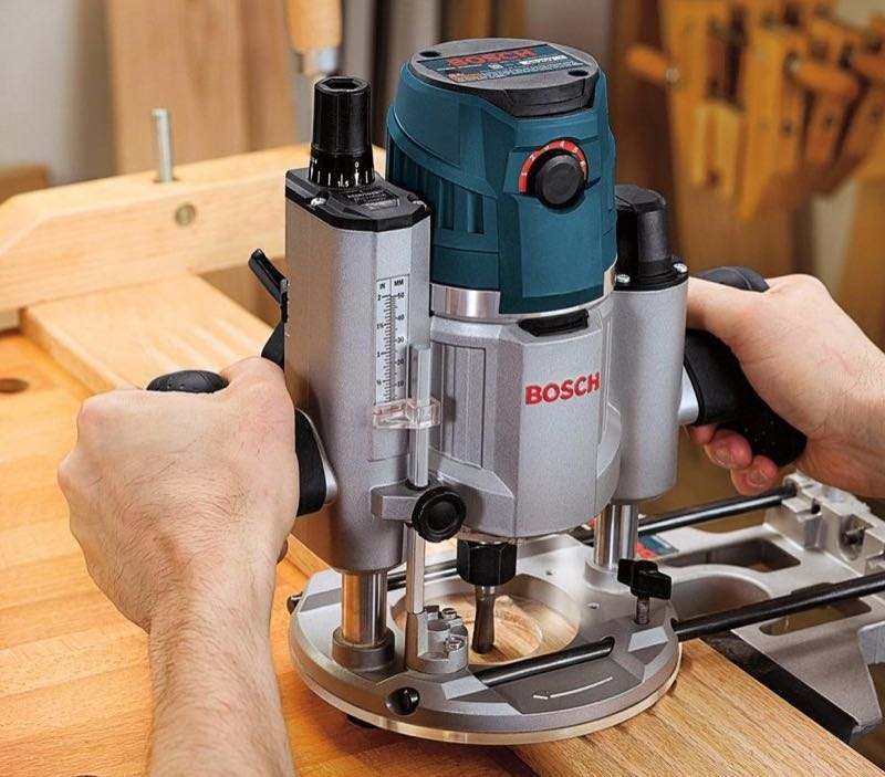 Bosch 1617EVSPK 225 HP Plunge and FixedBase Router