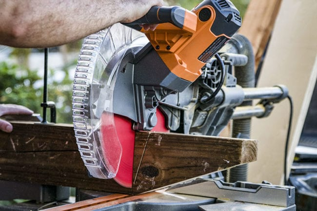 Ridgid 12 Inch Sliding Compound Miter Saw