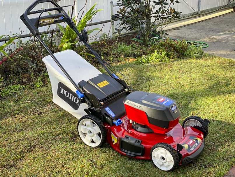 Toro 60v Self Propelled Lawn Mower