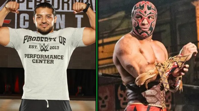 El Hijo del Fantasma Officially Reports for Duty at WWE Performance Center