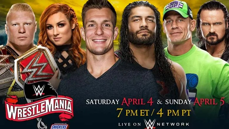 wrestlemania 36 matches added confirmed aleister black street profits