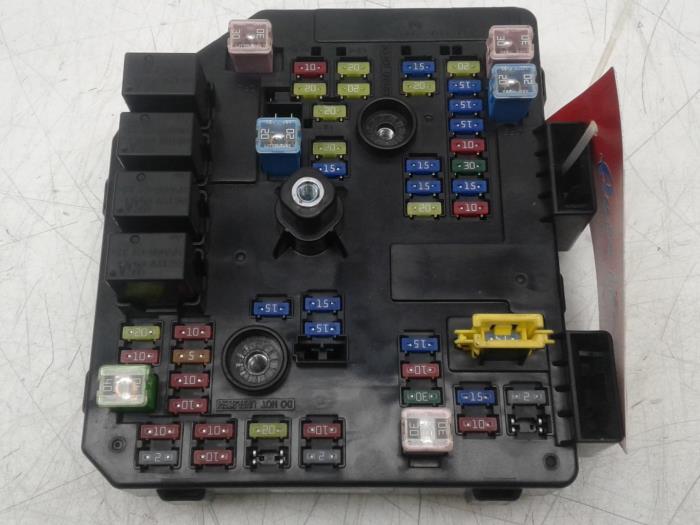 used opel antara fuse box - 95361499 - auto wessel proxyparts