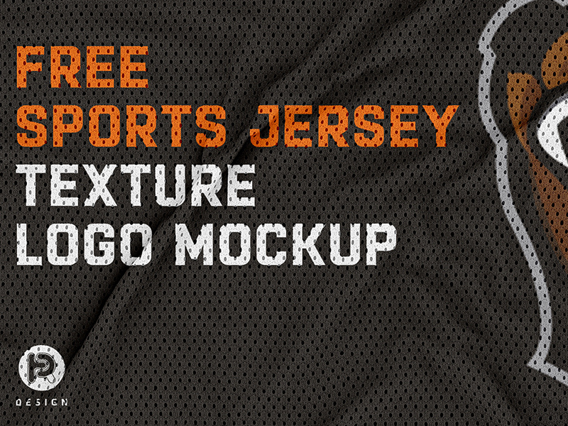 Download Jersey Texture Logo Mockup | Free PSD Template | PSD Repo