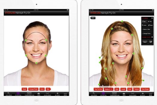 IPad App Lets Women Try Out Different Hairstyles PSFK