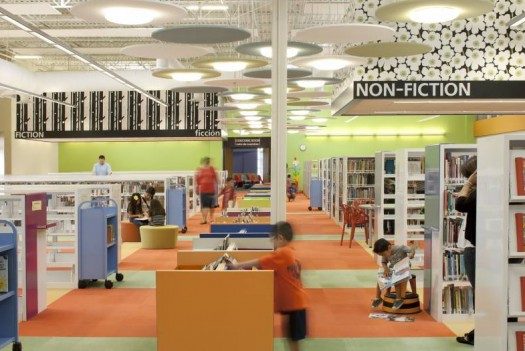 Abandoned Walmart Transformed Into A Functioning Library