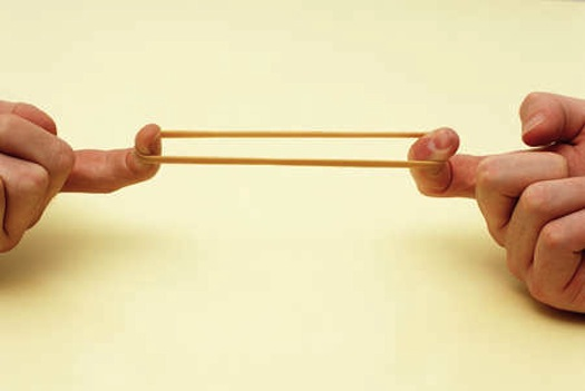 Rubber Band Electronics Can Stretch To Three Times Their Size